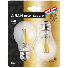 Airam Led Filament, 2 Lampor - Armaturer och lampor - 6435200214980 - 1