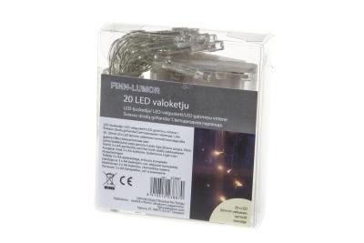 LED VALOT KETJUSSA 20 KPL TKU - Gårdsdekoration - 6410412238870 - 11