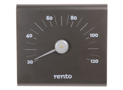 Rento Bastu Termometer Aluminium - Bastutillbehör - 6410412238290 - 11