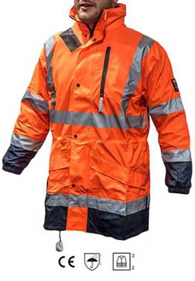 SADETAKKI HI-VIS ORANSSI MET - Arbets- och skyddskläder - 100012876560 - 1