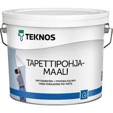 TAPETTIPOHJAMAALI 9L TOS - Innefärg - 6414621083832 - 1