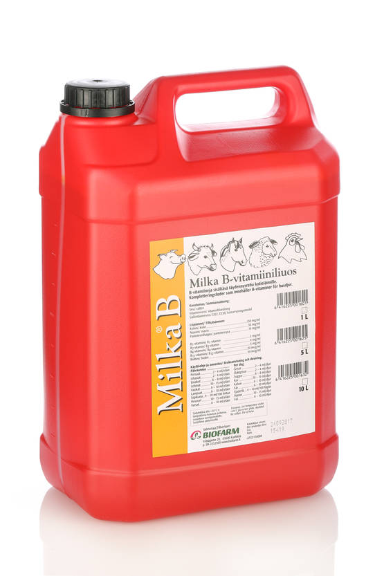 MILKA B-VITAMIINILIUOS 10 L - Grisfoder - 1392493 - 1