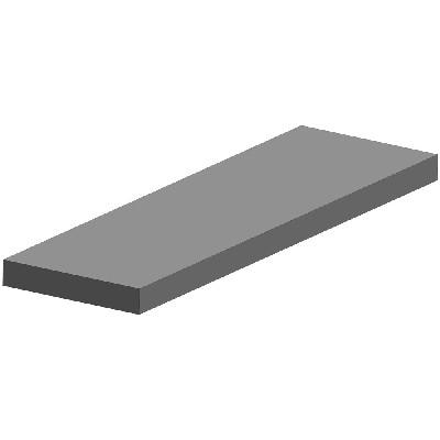 LATTARAUTA 8X40 6M OEN - Stål och metall - 10050013 - 1