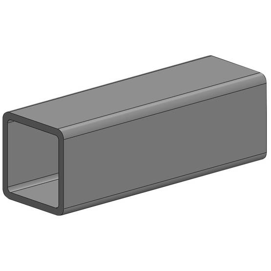 RHS-PUTKIPALKKI 60X40X3 6M OEN - Stål och metall - 10050114 - 1