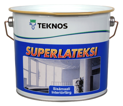 SUPERLATEKSI GF1 2.7 L AKRYL.L - Innefärg - 1257494 - 11