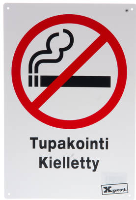 OPASTE TUPAKOINTI KIELLETT TKU - Beslag - 6410412590435