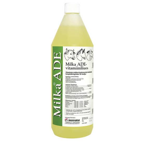 MILKA ADE-VITAMIINILIUOS 1 L - Grisfoder - 1392415 - 1