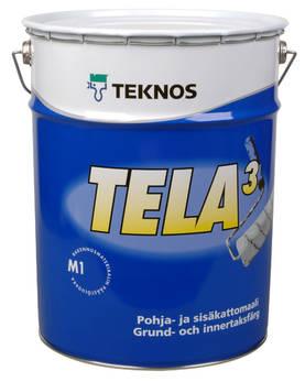 TELA 3 18L VIT GRUND/TAKFÄRG - Innefärg - 6414620169506 - 1