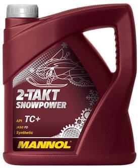 MANNOL 2-Taktolja Snowpower 4L API - 2T-tvåtakstoljor - TN40167 - 1