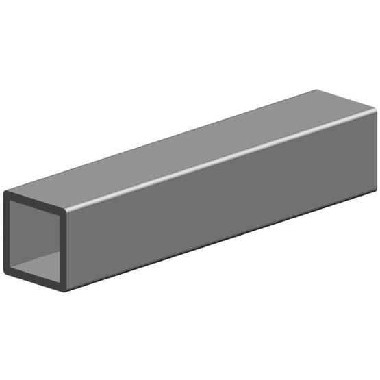 HUONEKALUPUTKI 40X40X2 6M OEN - Stål och metall - 10050097 - 1