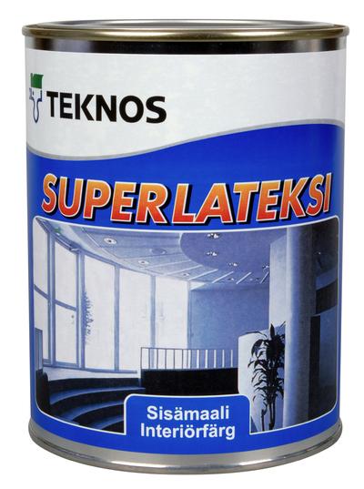 SUPERLATEKSI GF1 0.9 L AKRYL.L - Innefärg - 1257487 - 11