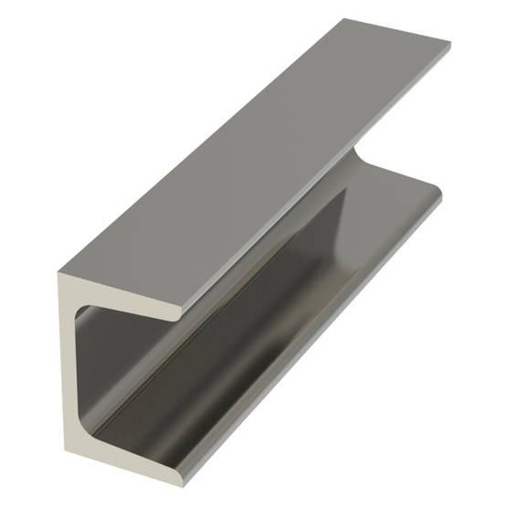 U-PALKKI (UNP) 100MM 6M OEN - Stål och metall - 10050047 - 1