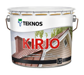 KIRJO MUSTA T2515 3L TOS - Utefärg - 1296398