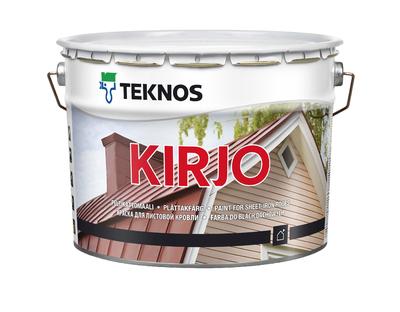 KIRJO MUSTA T2515 10L - Utefärg - 1296408 - 1