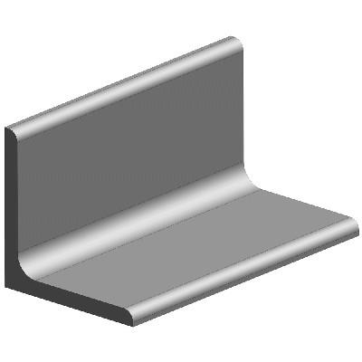 KULMARAUTA 25X25X3 6M OEN - Stål och metall - 10050038 - 1