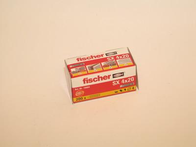 NYLONPLUGG SX 4 FISCHER - Borras fästanordning - 1029378 - 1