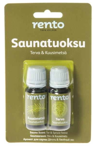 RENTO LÖYLYTUOKSU 2X10ML TKU - Bastutillbehör - 6410412365538 - 1