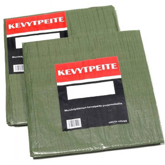 KEVYTPEITE 6X10 100G/M2 MEX - Presenningar - 1019399 - 1